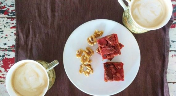 brownies-barbabietola-noci